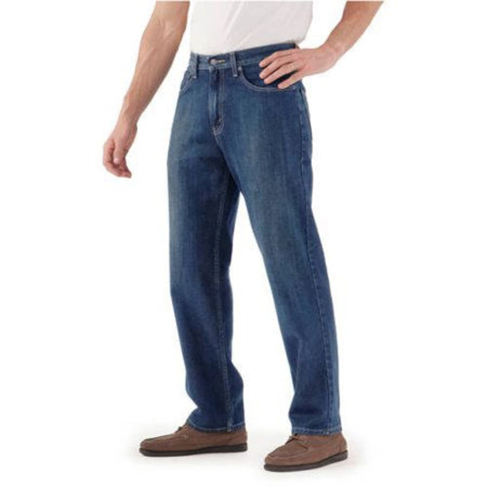 SIGNATURE by Levi Strauss & Co. Gold Label Men's Relaxed Jeans - Discontinued Style - MED STONEWASH 0005