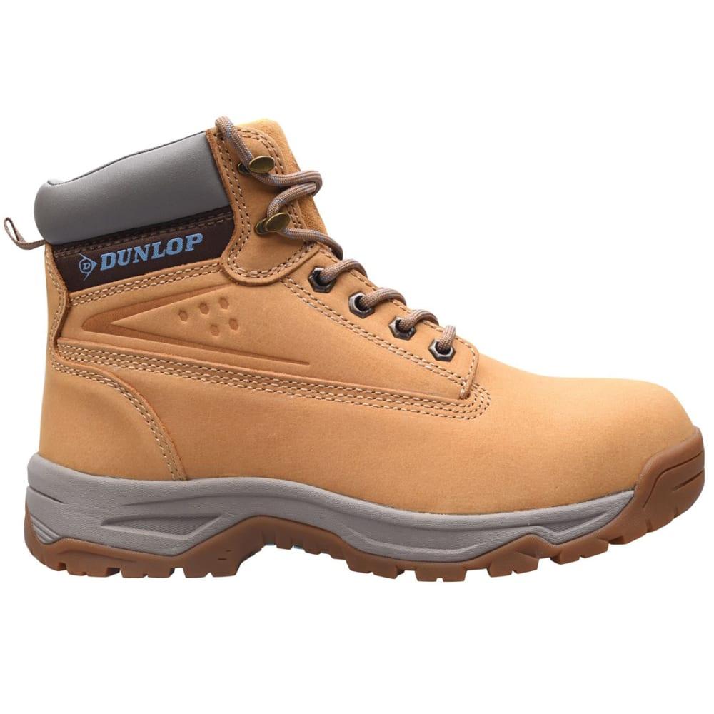 DUNLOP Women's On-Site Mid Steel Toe Work Boots 5