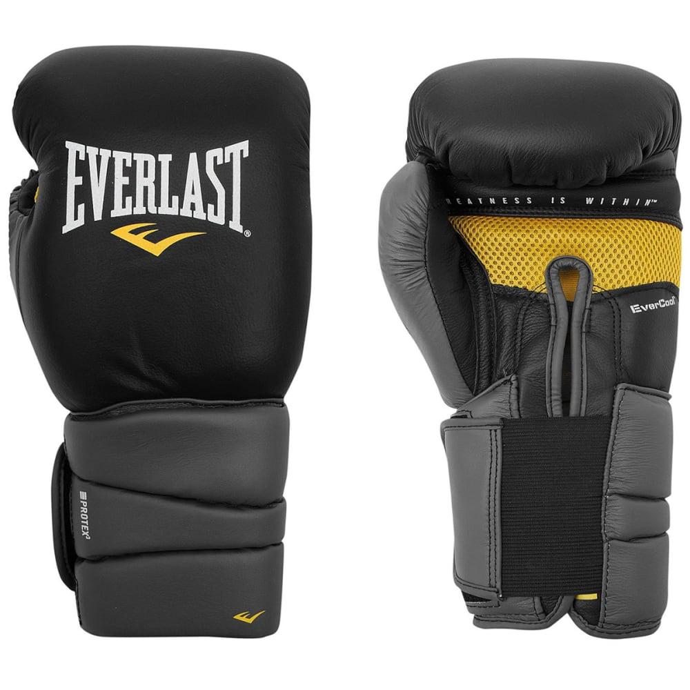 EVERLAST Pro3 Gel Boxing Gloves - BLACK