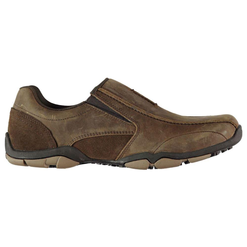 KANGOL Men's Vine Slip-On Sneakers - BROWN