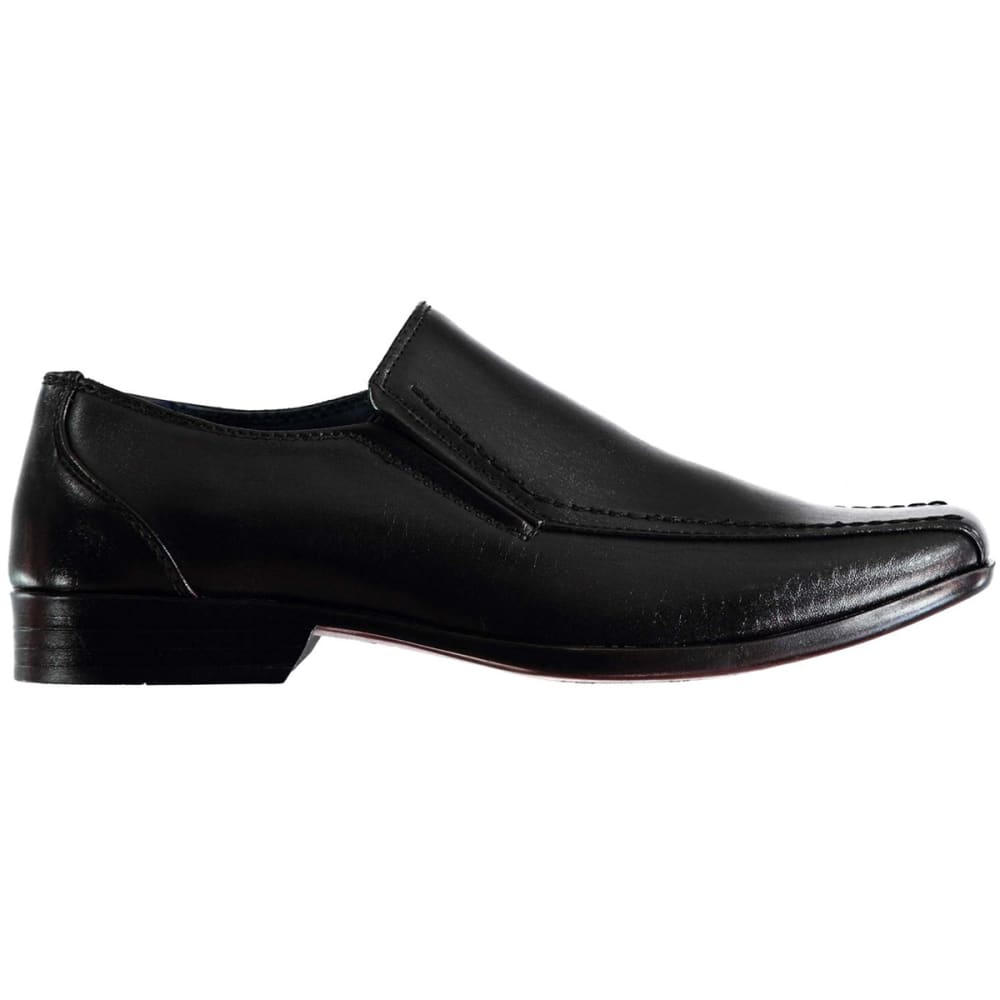 GIORGIO Big Boys' Bourne Slip-On Dress Shoes - BLACK