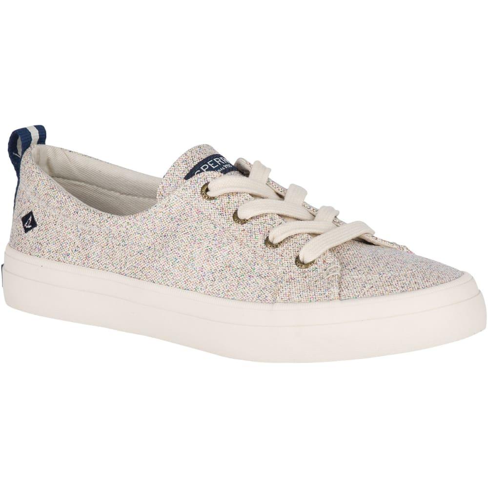 Sperry Women's Crest Vibe Confetti Sneakers - White, 6