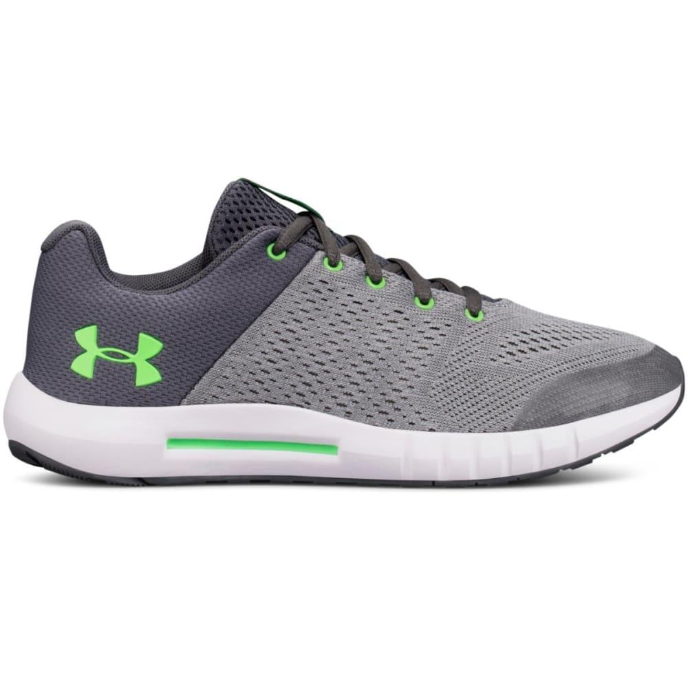 UNDER ARMOUR Big Boys' Grade School UA Pursuit Running Shoes, Wide 3.5