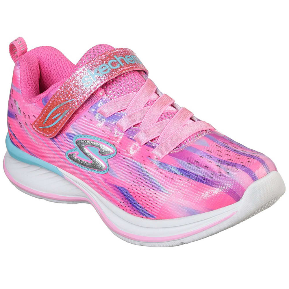 SKECHERS Toddler Girls' Jumpin Jams - Dream Runner Sneakers - PINK-PKMT