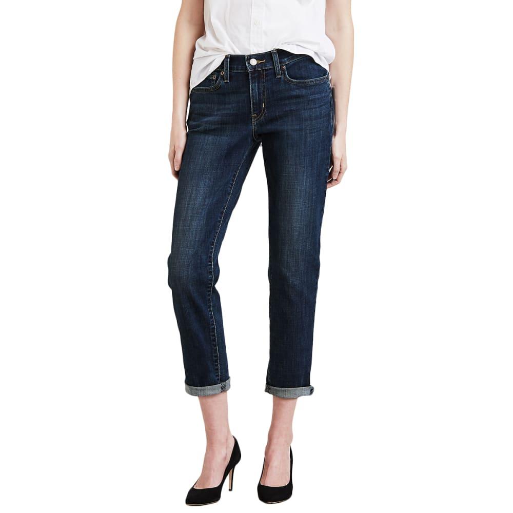 Levi's Women's Boyfriend Jeans - Blue, 27