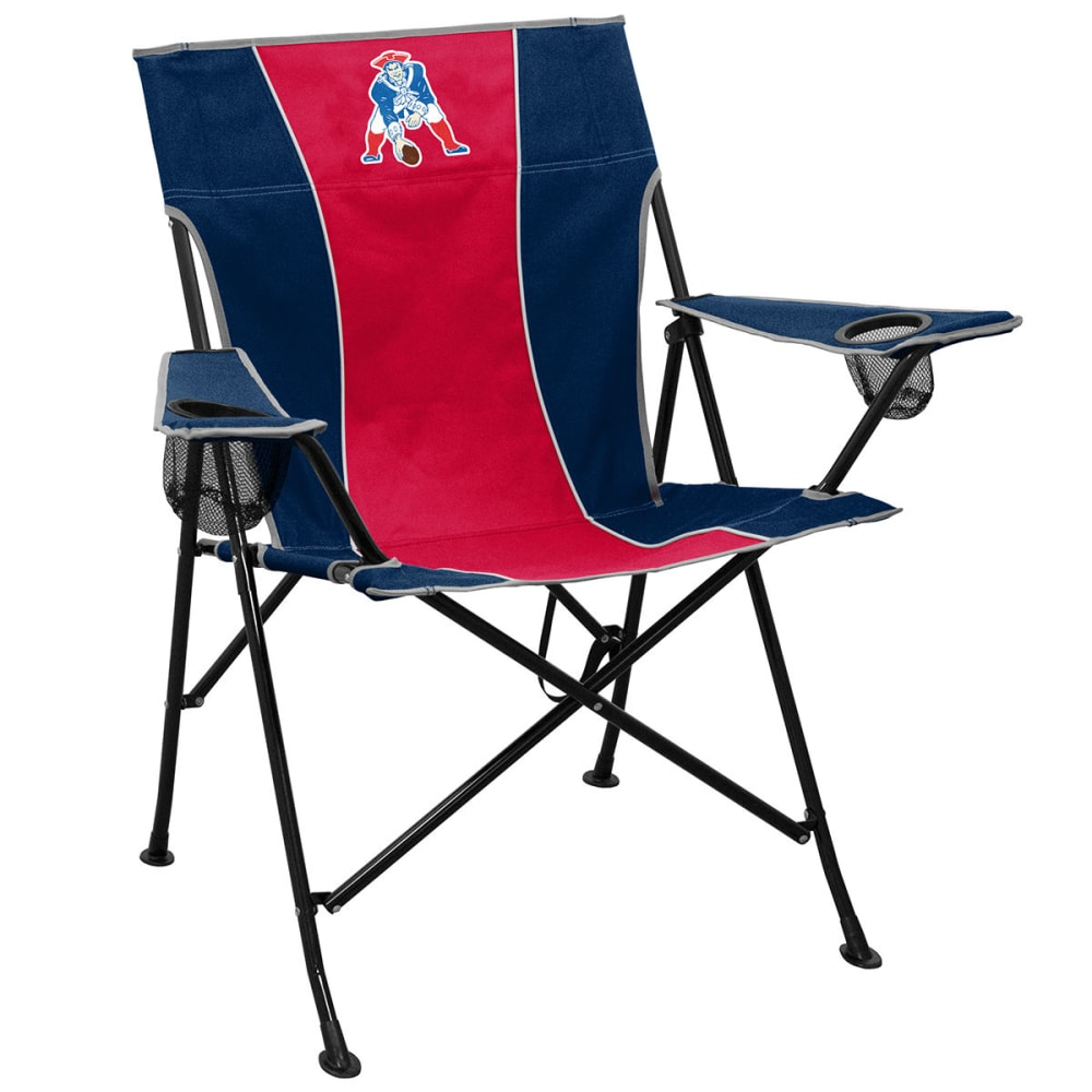 NEW ENGLAND PATRIOTS Pat Patriot Pregame Chair - NAVY