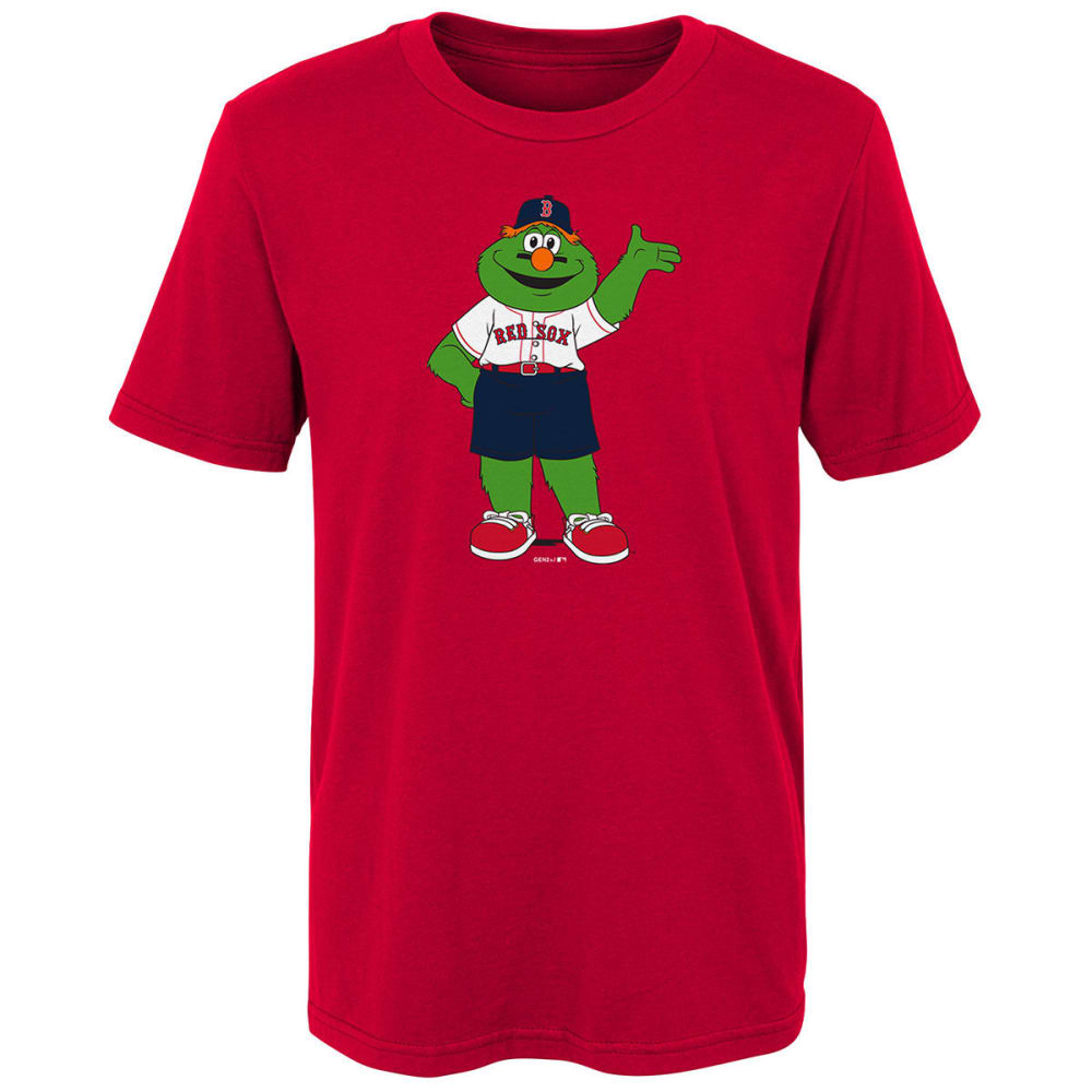BOSTON RED SOX Big Kids' Mascot Wally Short-Sleeve Tee - RED