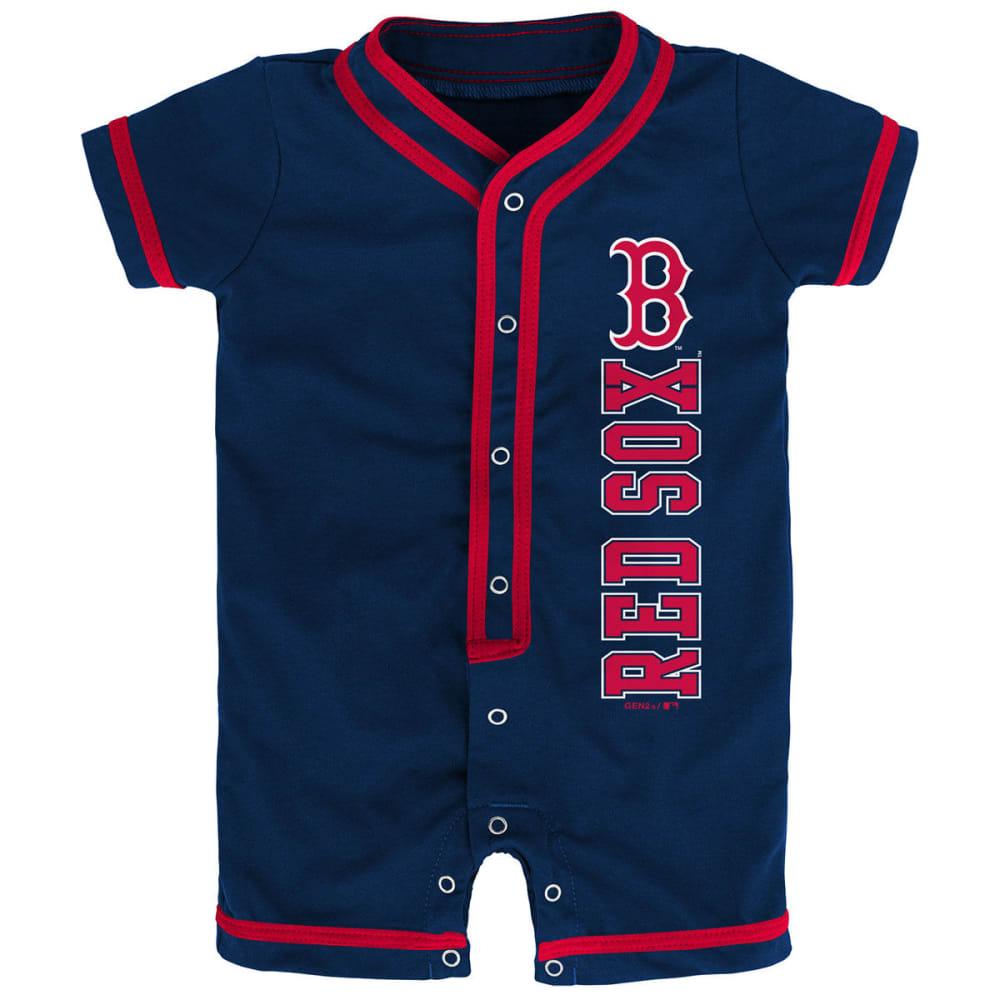 BOSTON RED SOX Newborns' Game Ready Coverall Romper 0-3M