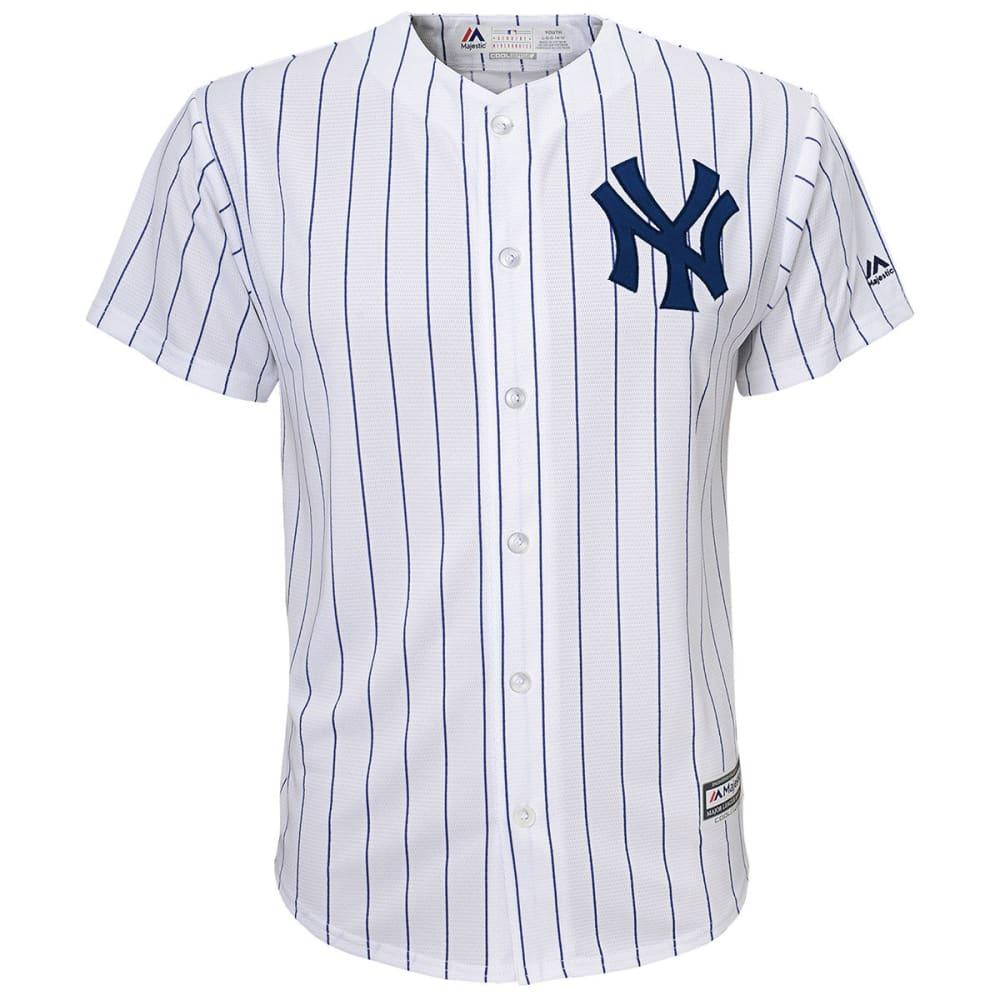 NEW YORK YANKEES Kids' Home Replica Short-Sleeve Jersey - WHITE