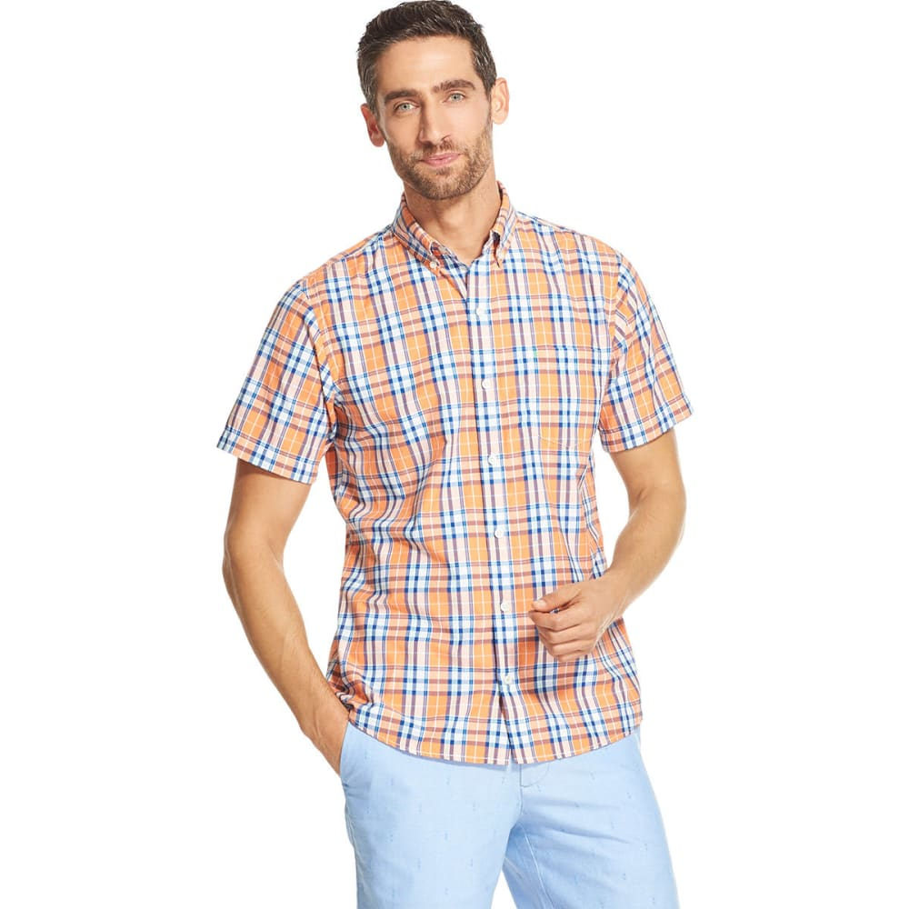 IZOD Men's Breeze Short-Sleeve Shirt M