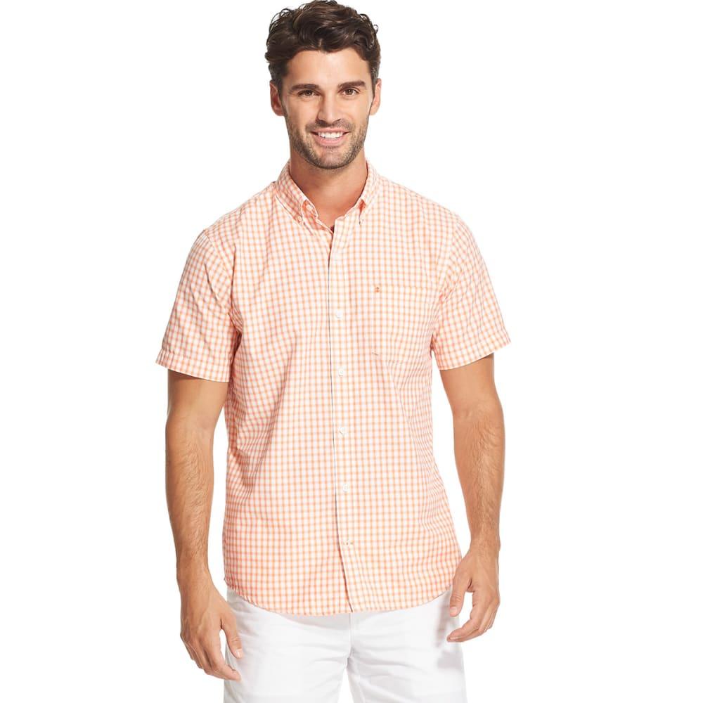 IZOD Men's Breeze Short-Sleeve Shirt - MELON-840