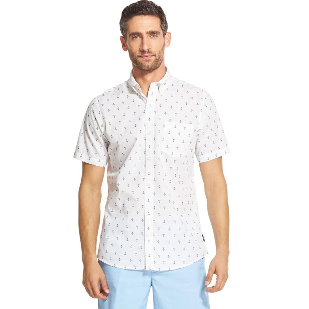 IZOD Men's Breeze Short-Sleeve Shirt - BRIGHT WHITE-116