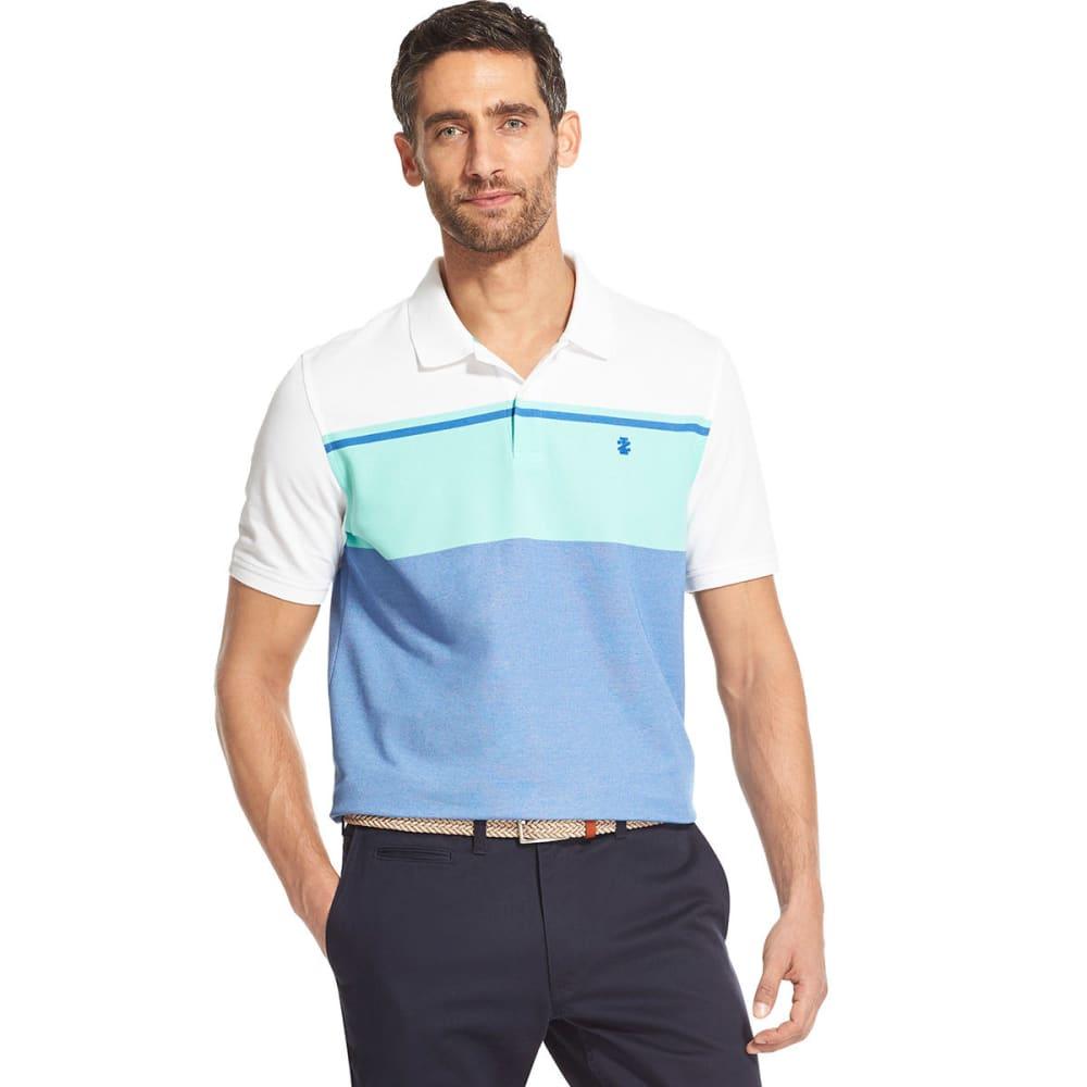 IZOD Men's Colorblock Short-Sleeve Polo - FLORIDA KEYS-318