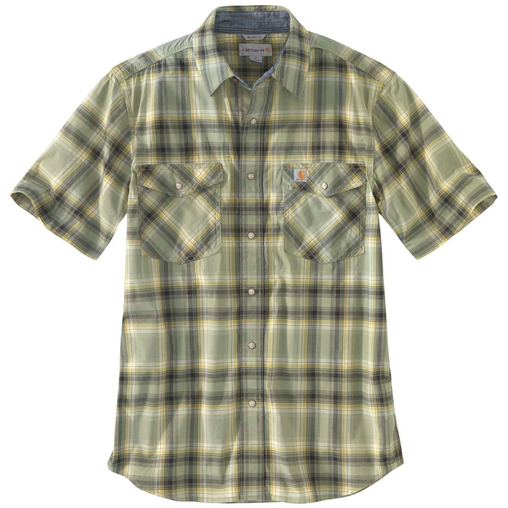 CARHARTT Men's Rugged Flex Bozeman Short-Sleeve Shirt M