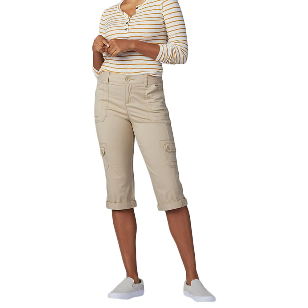 LEE Women's Flex-To-Go Cargo Skimmer Capris 6