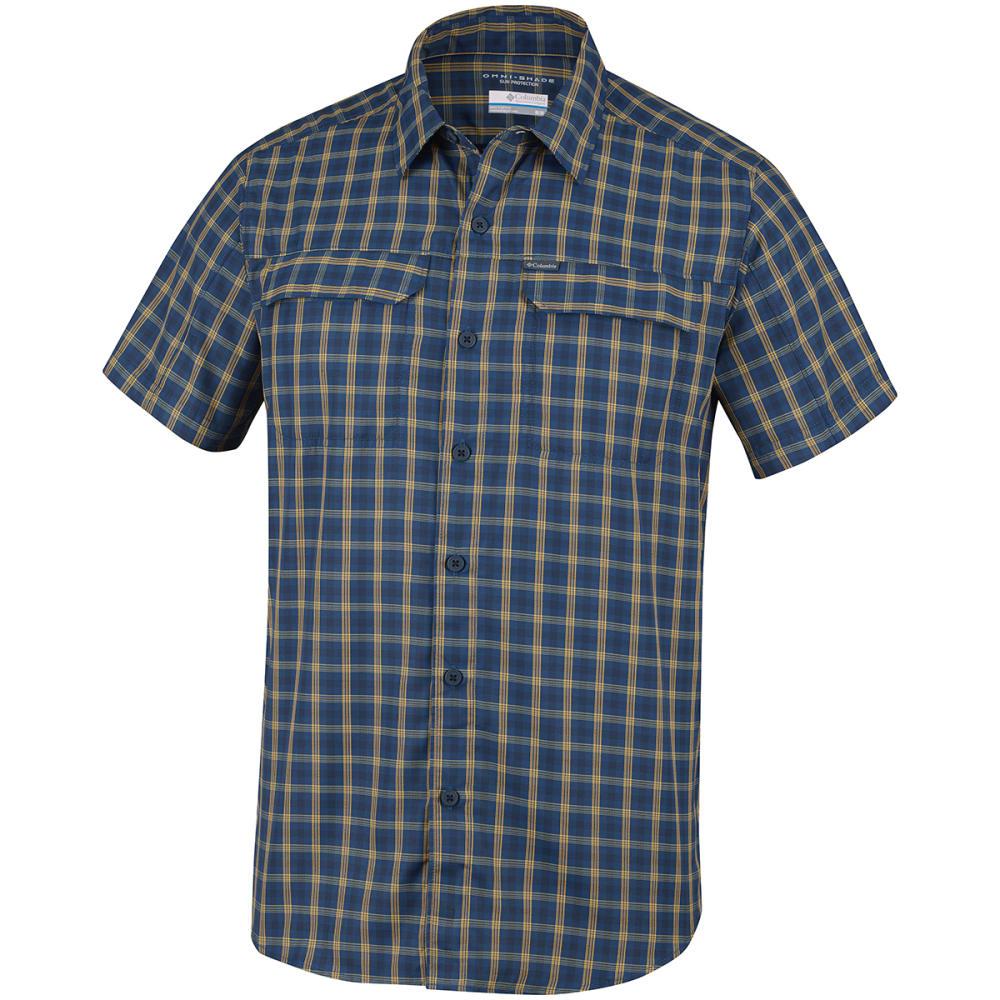 COLUMBIA Men's Silver Ridge 2.0 Multi Plaid Short-Sleeve Shirt S