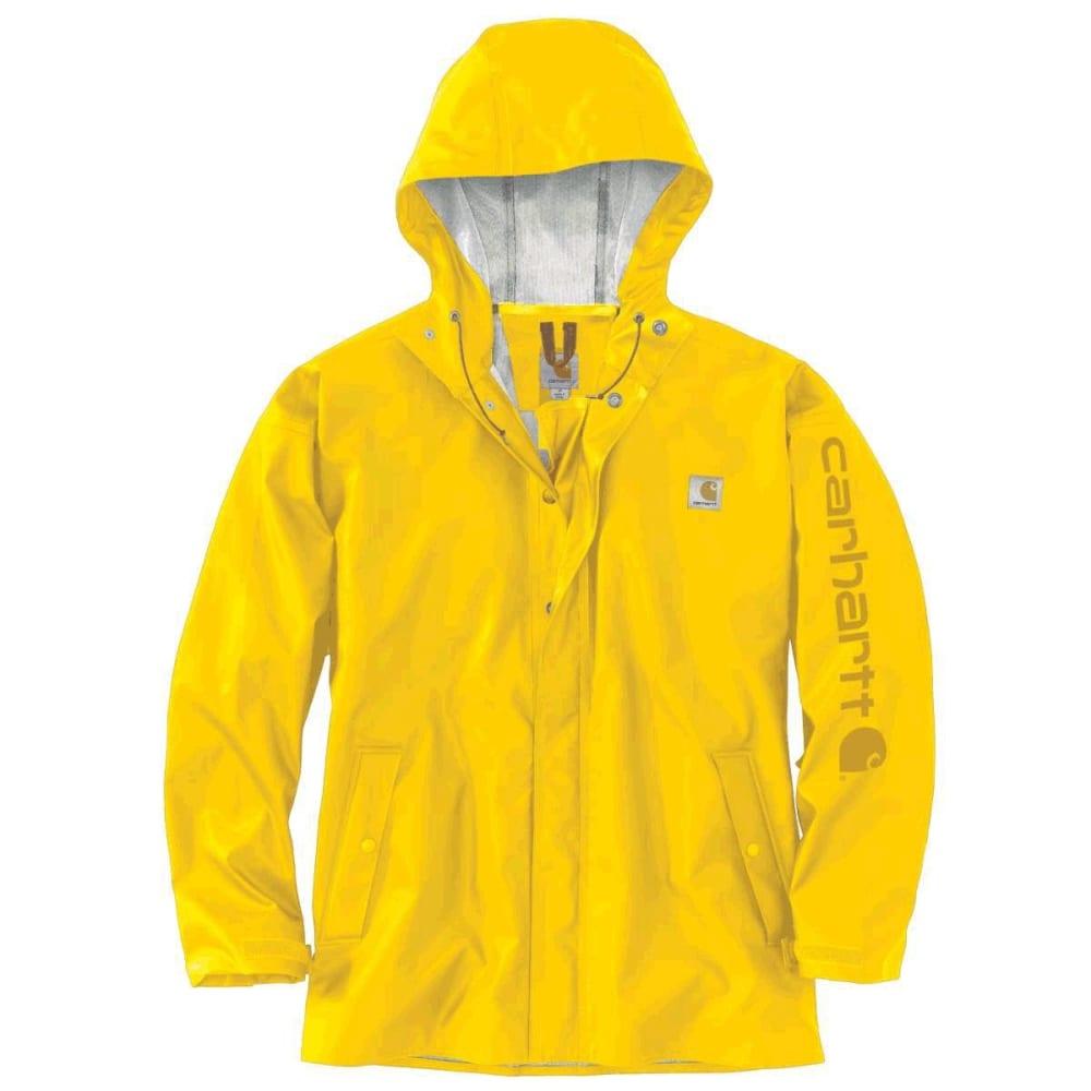 CARHARTT Men's Lightweight Waterproof Rainstorm Jacket S