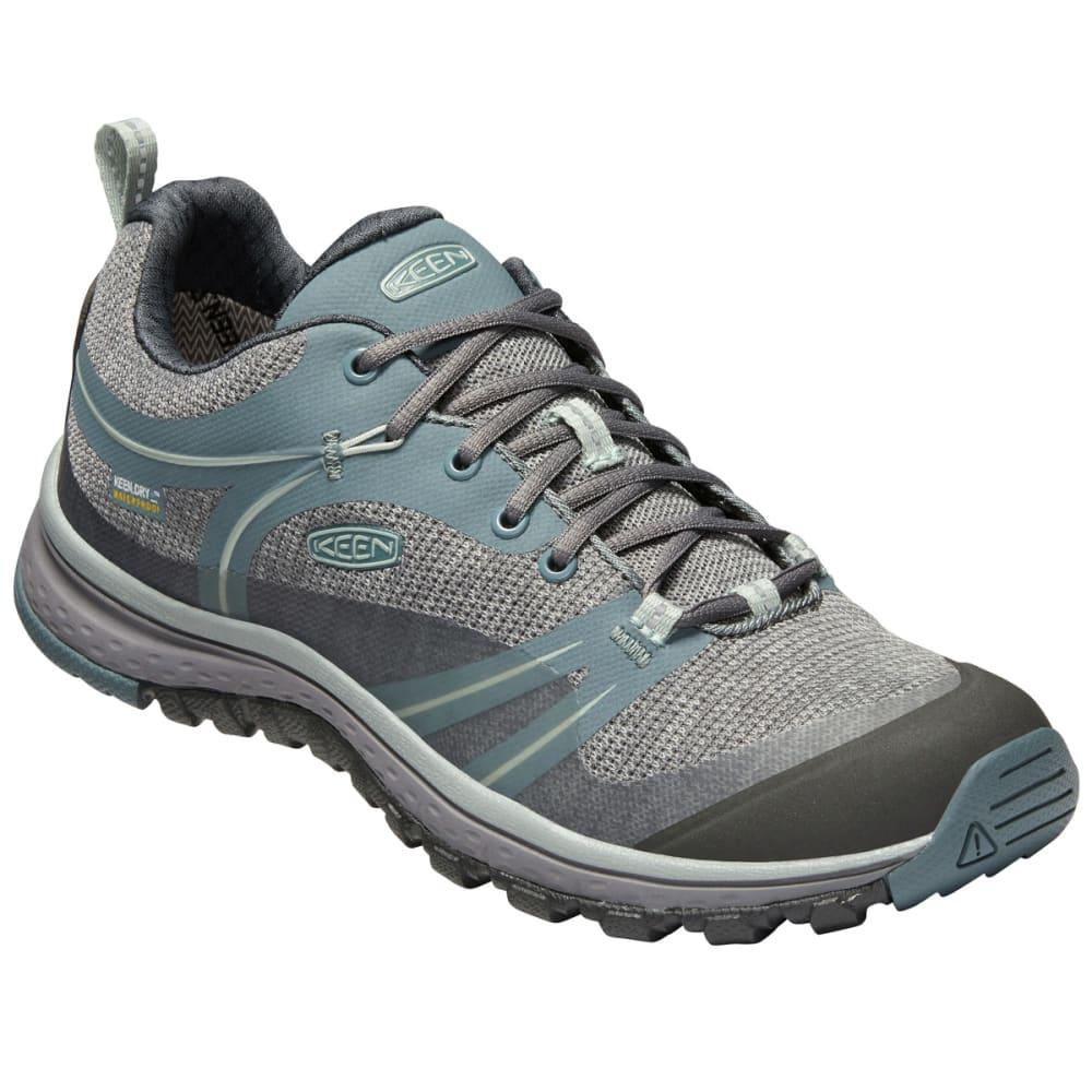 Keen Women's Terradora Waterproof Low Hiking Shoes - Black, 6