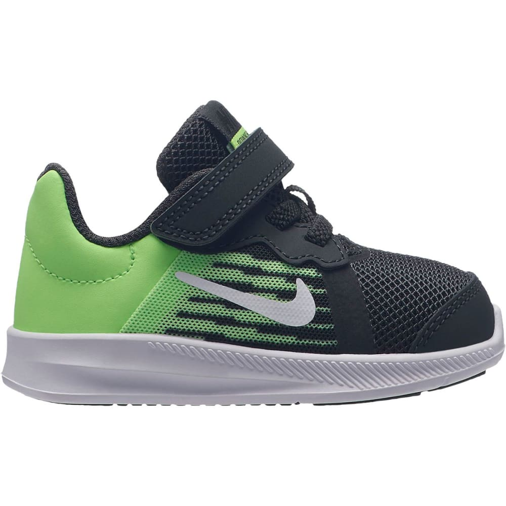 NIKE Little Boys' Downshifter 8 TDV Sneakers - ANTHRACITE/WHTE-LIME