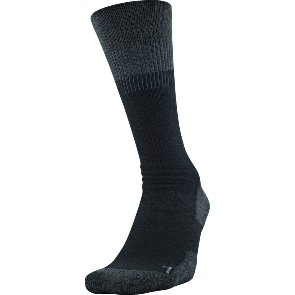 Under Armour Men's Unrivaled Crew Socks - Black, L