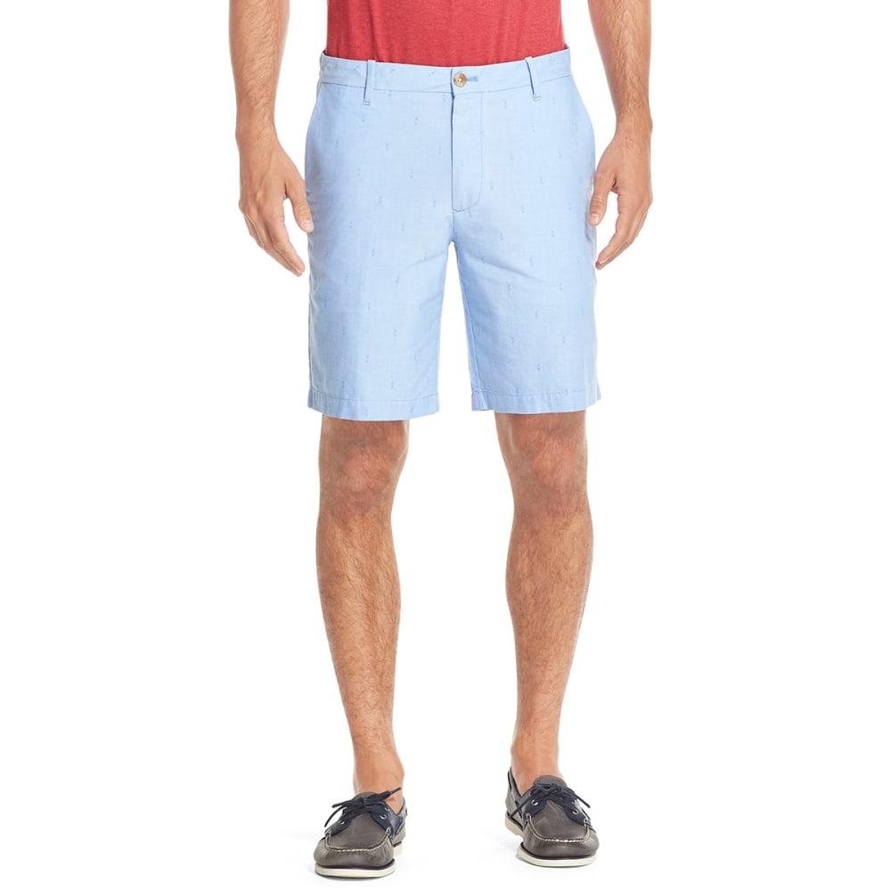 Izod Men's Oxford Shorts - Blue, 30