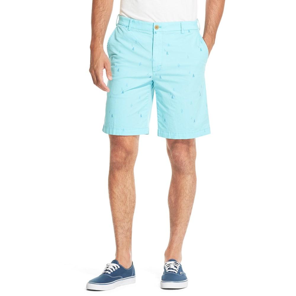 IZOD Men's Saltwater Stretch Shorts - BLUE RADNCE BOAT-477