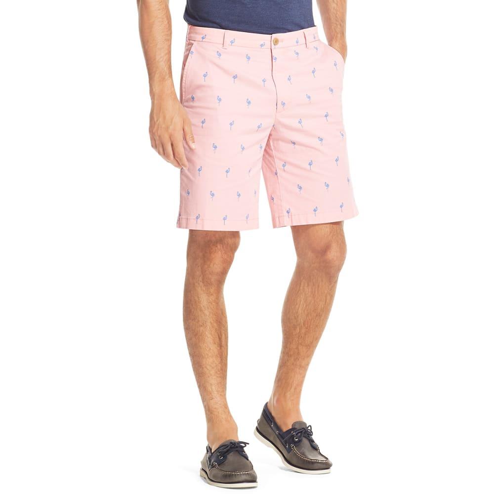 IZOD Men's Saltwater Stretch Shorts - CNDY PINK PELICN-660