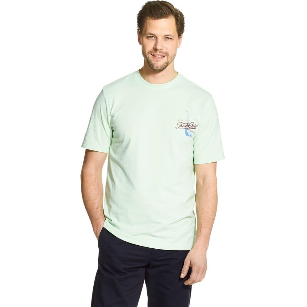 IZOD Men's Short-Sleeve Graphic Tee - PATINA GREEN-383