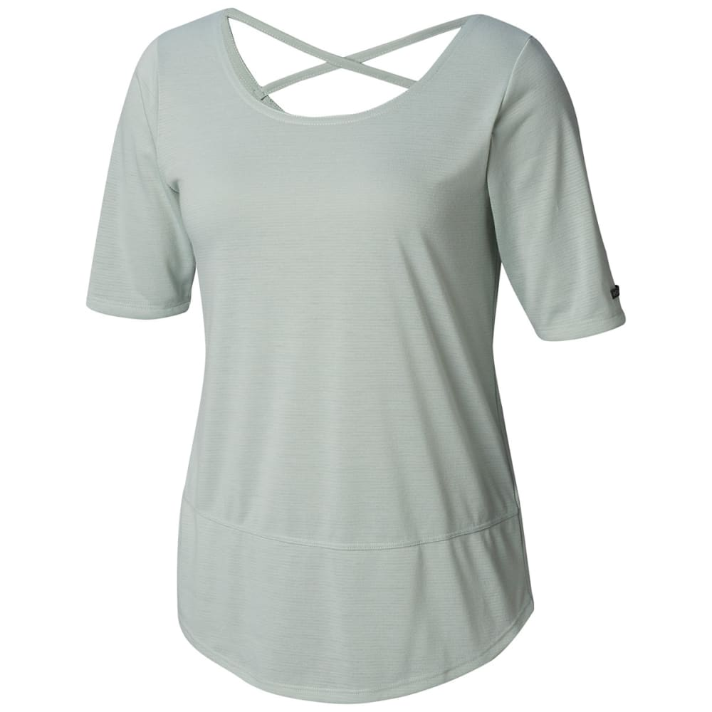Columbia Women's Anytime Casual Short-Sleeve Shirt - Green, S