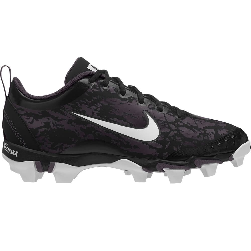 NIKE Women's Hyperdiamond 2.5 Keystone Softball Cleats - BLACK/WHITE-001