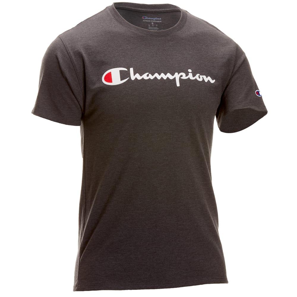 CHAMPION Men's Classic Short-Sleeve Tee S