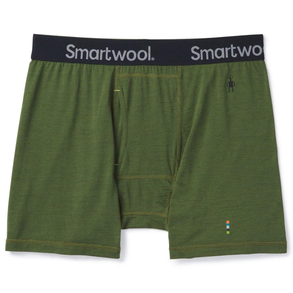 SMARTWOOL Men's Merino 150 Micro Stripe Boxer Briefs L