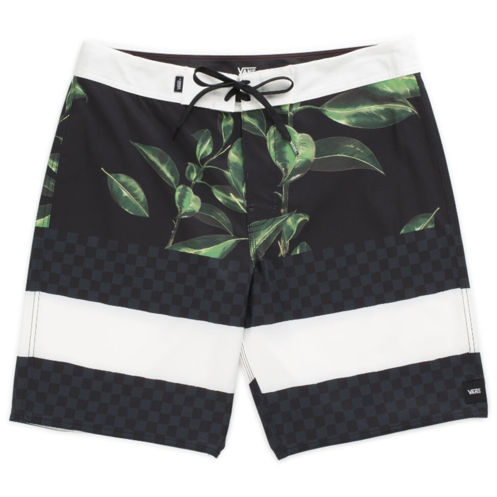 Vans Guys' 19 In. Era Boardshorts - Black, 32