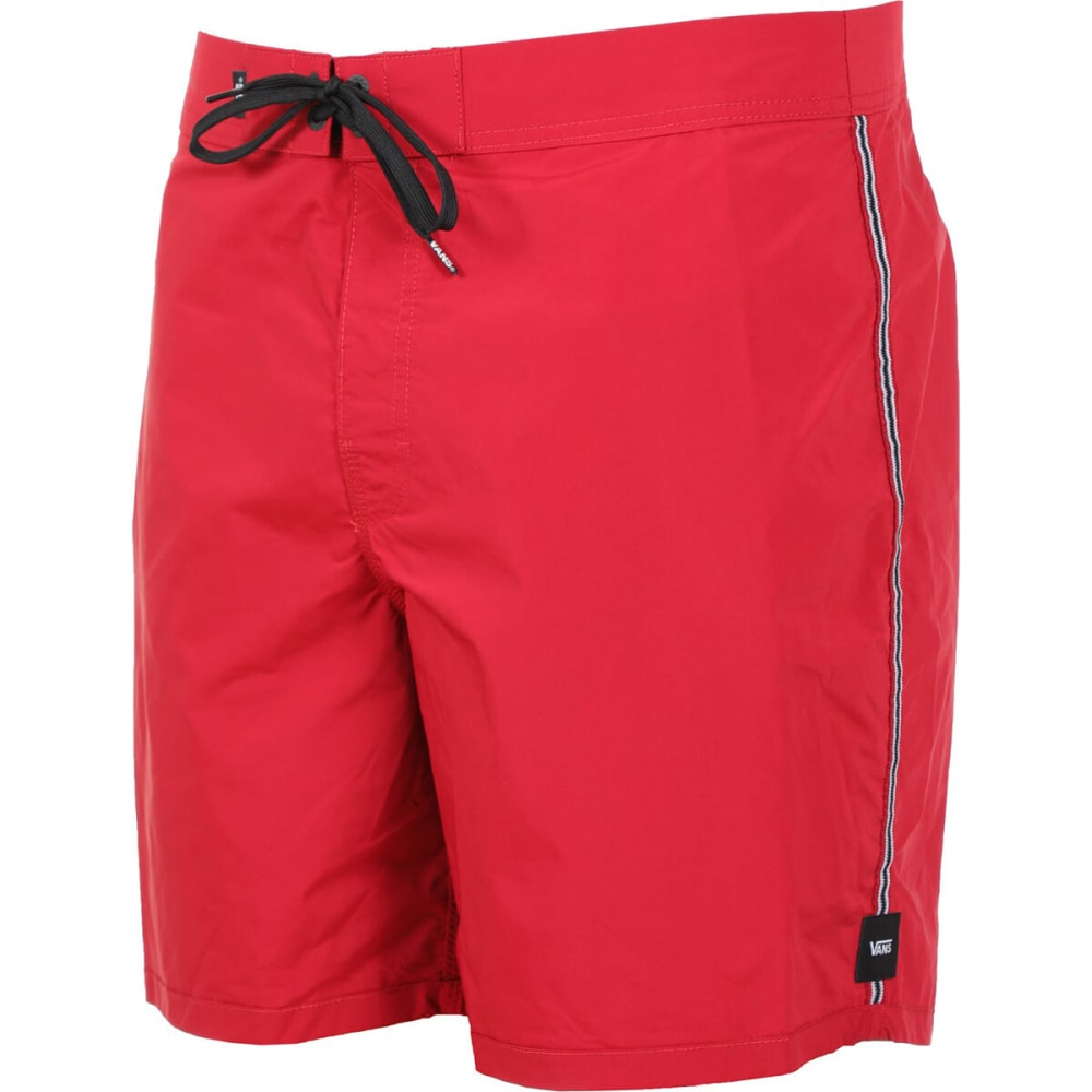 Vans Guys' 17 In. Ever-Ride Boardshorts - Red, 32