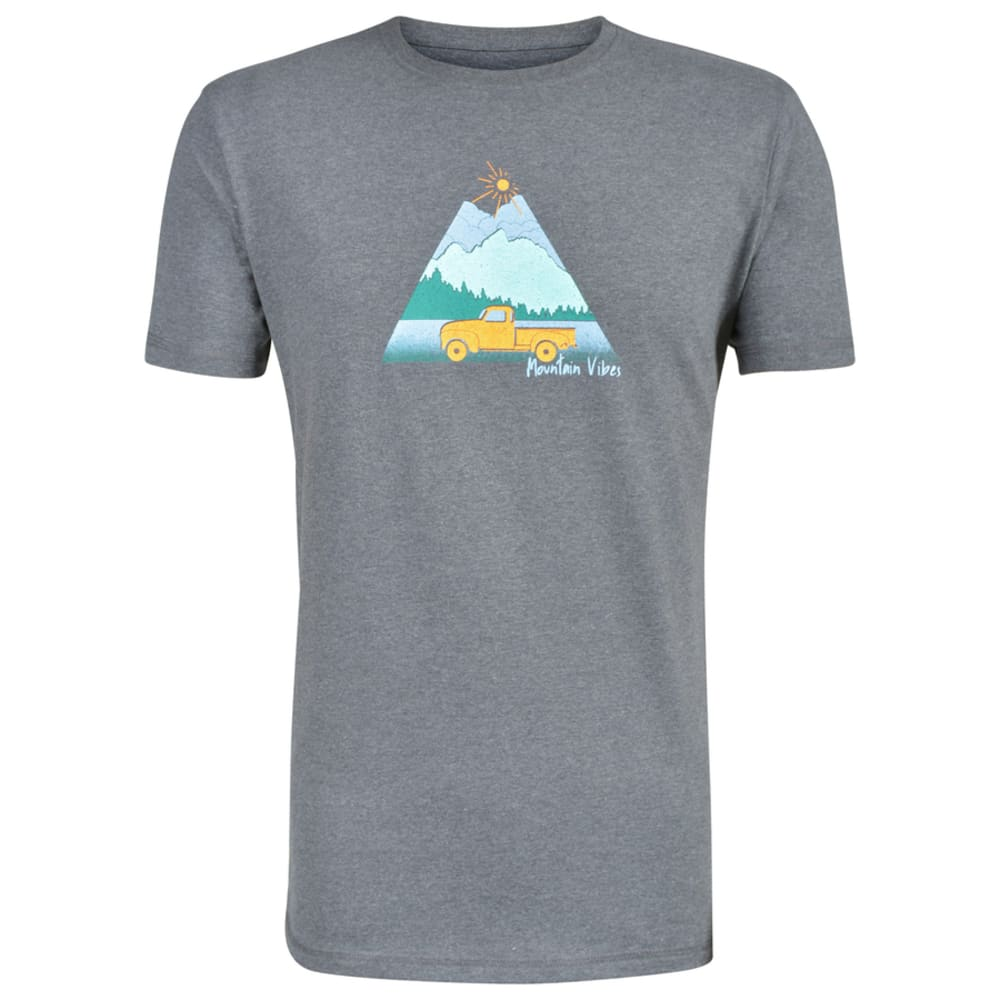 MOUNTAIN KHAKIS Men's Mountain Vibes Graphic Tee - 521-CHARCOAL HEATHER