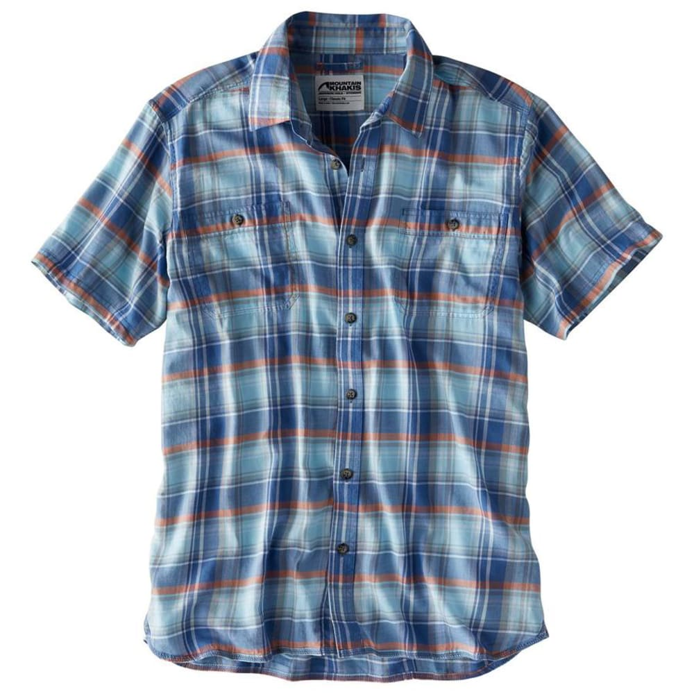 MOUNTAIN KHAKIS Men's Meridian Short-Sleeve Shirt S