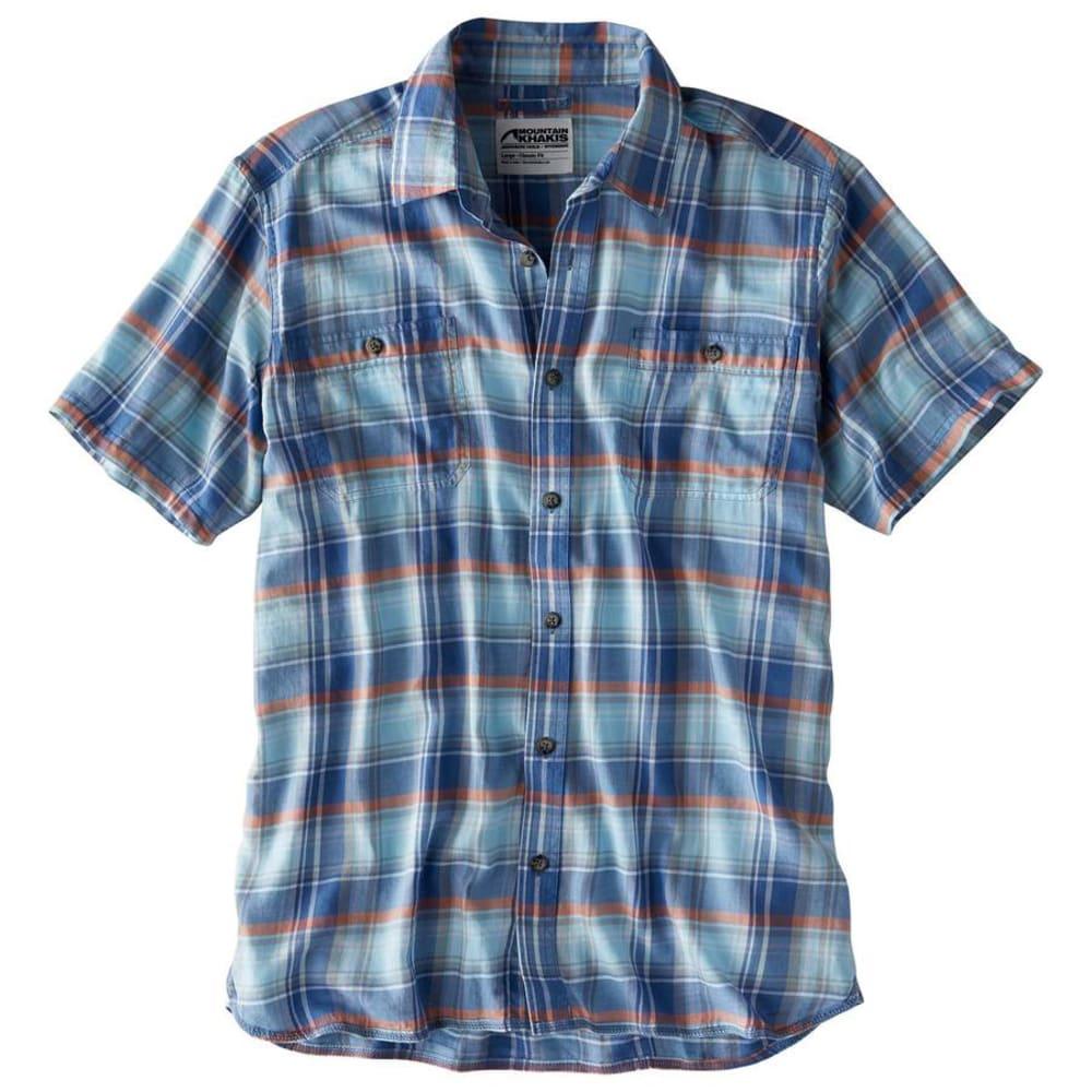 MOUNTAIN KHAKIS Men's Meridian Short-Sleeve Shirt - 715-CALYPSO