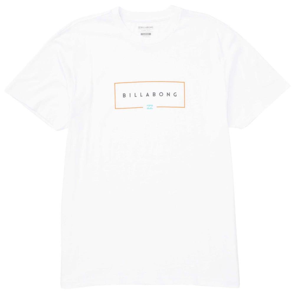 Billabong Guys' Union Short-Sleeve Tee - White, S