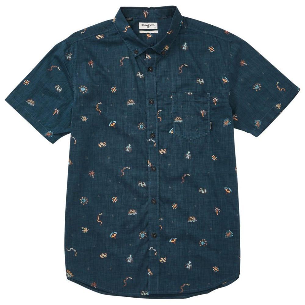 BILLABONG Guys' Sundays Mini Short-Sleeve Shirt S