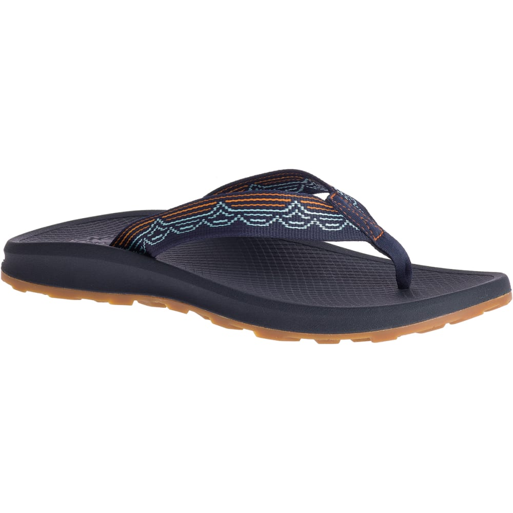 Chaco Men's Playa Pro Web Flip Flops - Blue, 8