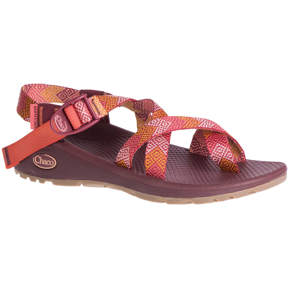 Chaco Women's Z/cloud 2 Sandals - Red, 7