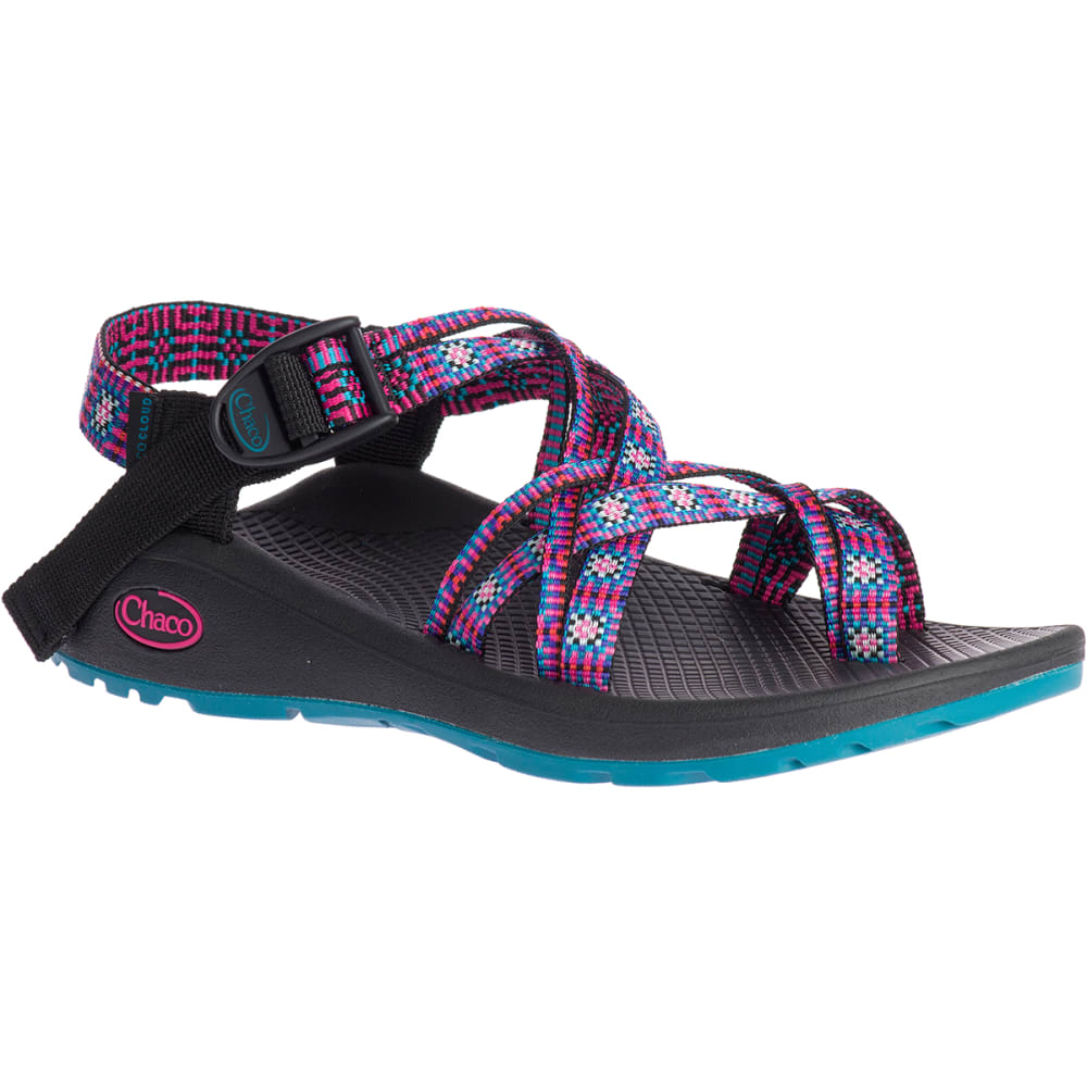 Chaco Women's Z/cloud 2 Remix Sandals - Red, 6