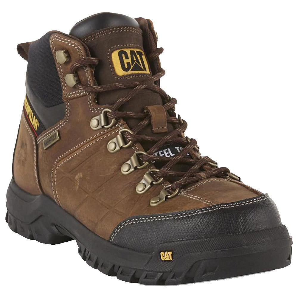 CATERPILLAR Men's 6 in. Threshold Waterproof Work Boots 9