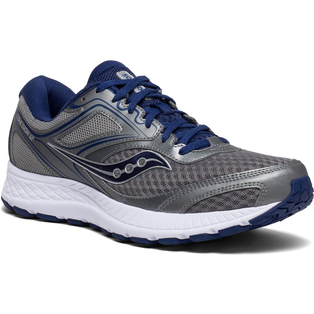 SAUCONY Men's Cohesion 12 Running Shoe, Wide 8