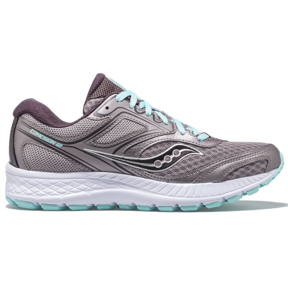 SAUCONY Women's Cohesion 12 Running Shoe, Wide 6