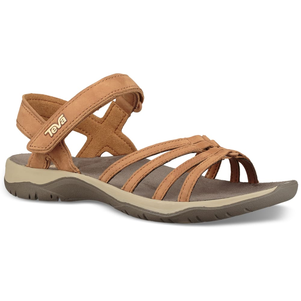 TEVA Women's Elzada Leather Waterproof Sandals 7