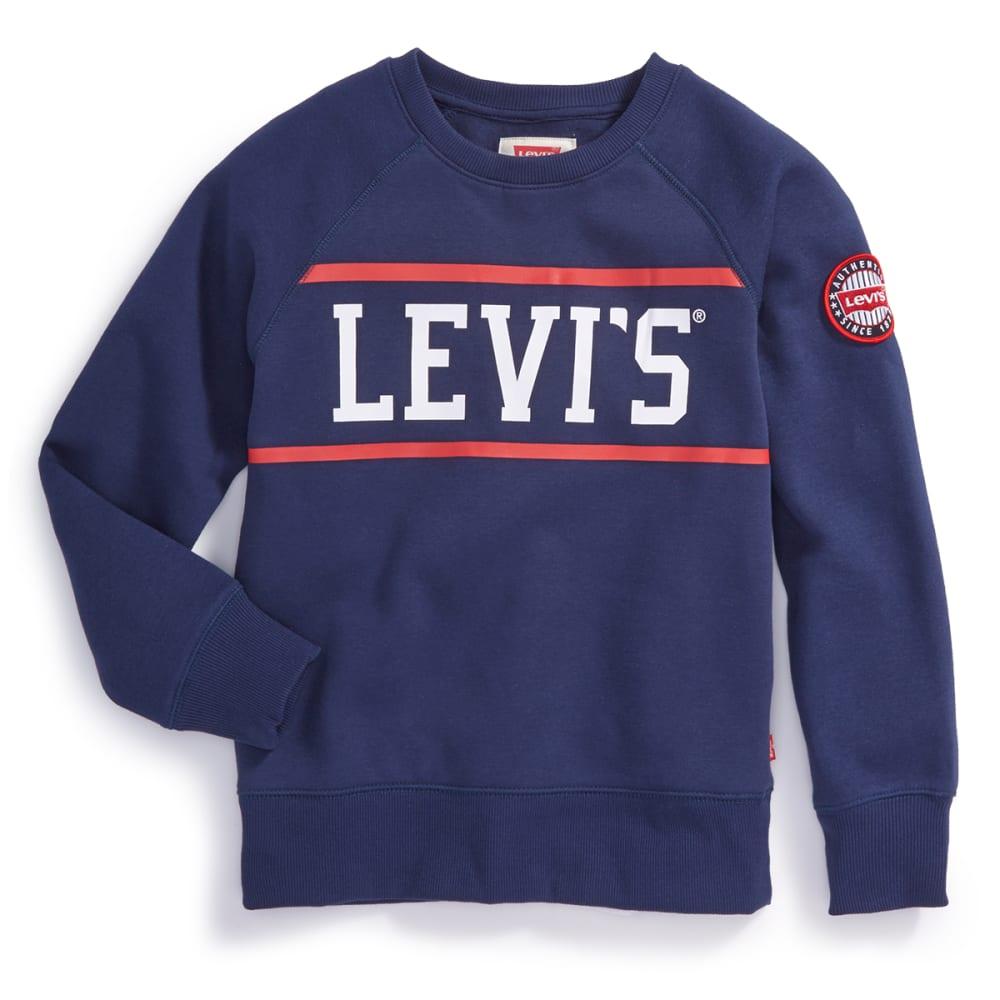LEVI'S Big Boys' Cory Fleece Long-Sleeve Pullover S