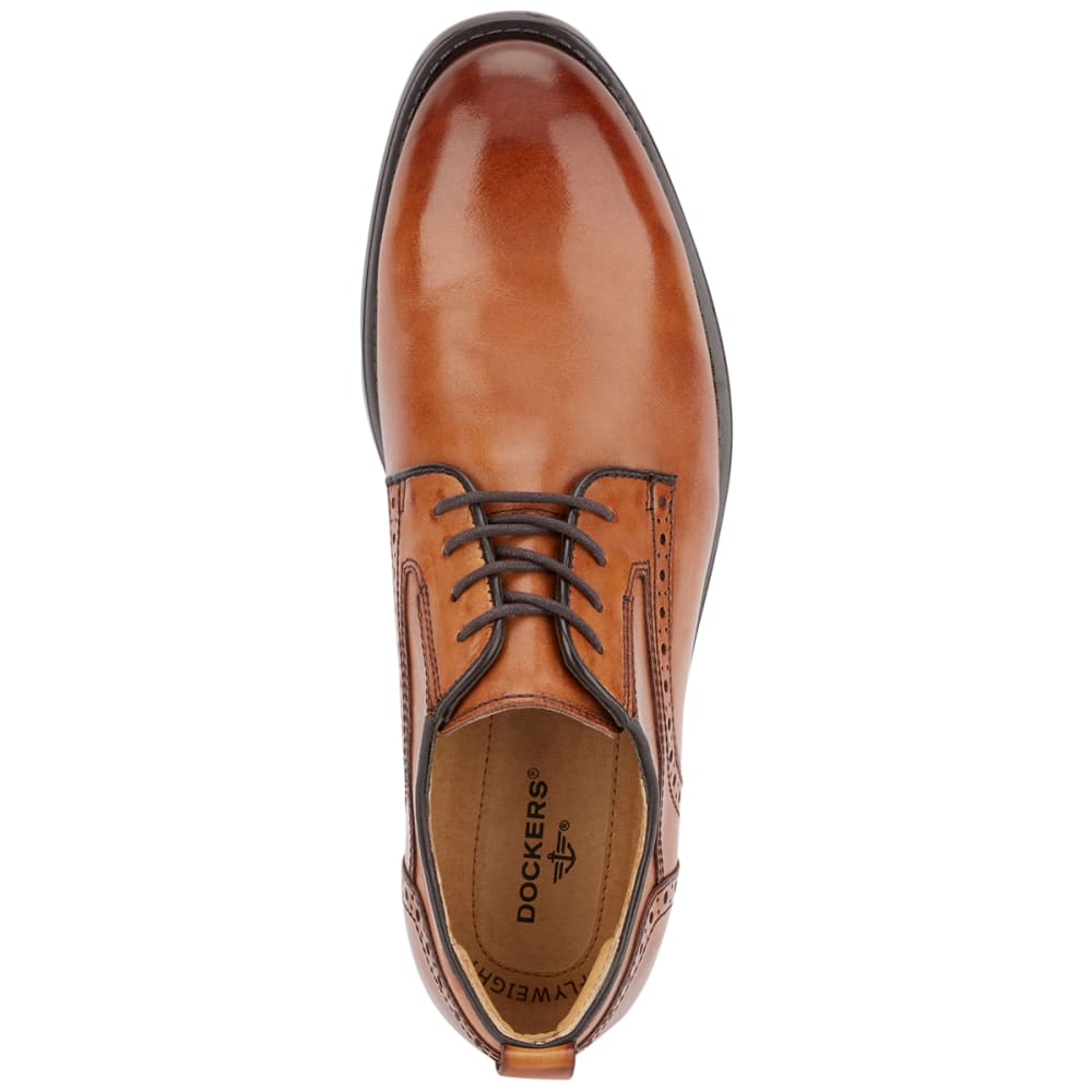 DOCKERS Men's Henson Oxford Lace-Up Dress Shoes - BUTTERSCOTCH