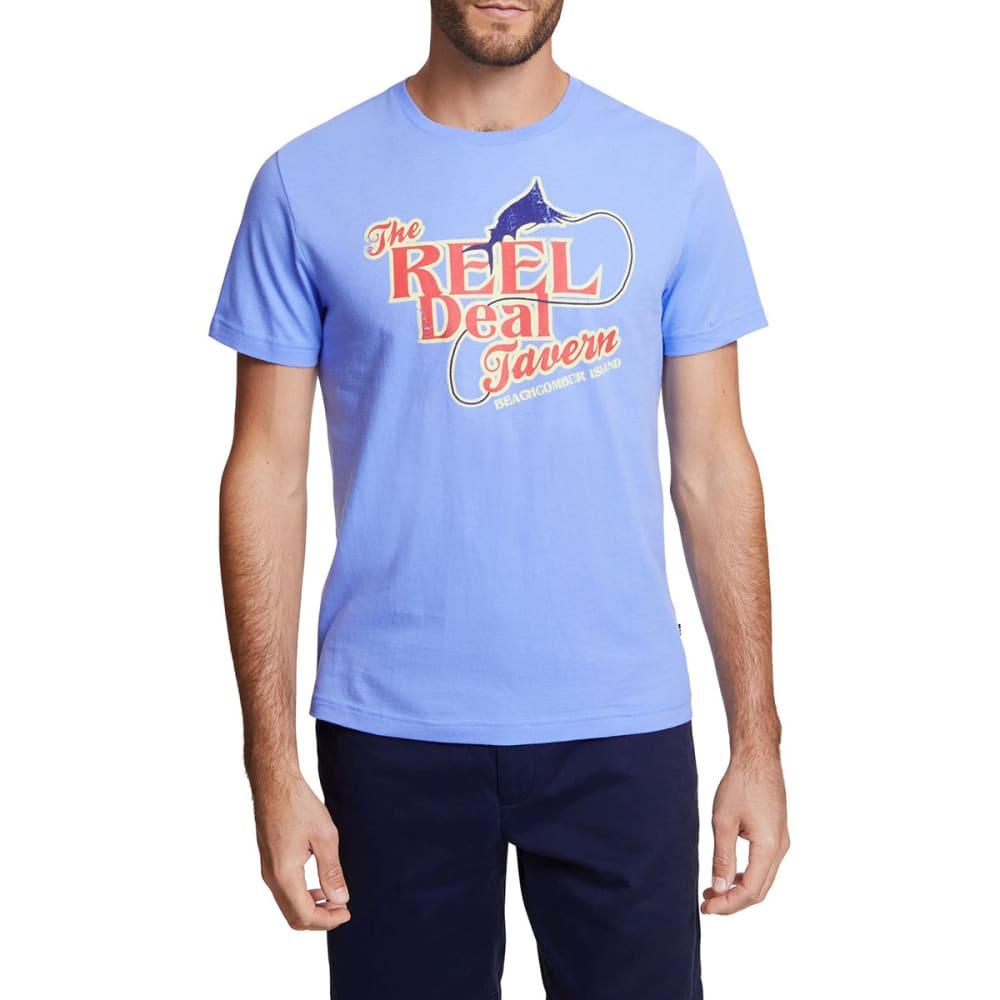 NAUTICA Men's Reel Deal Graphic Tee L