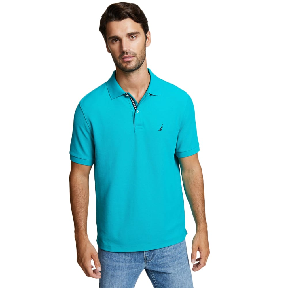 NAUTICA Men's Solid Performance Deck Polo M